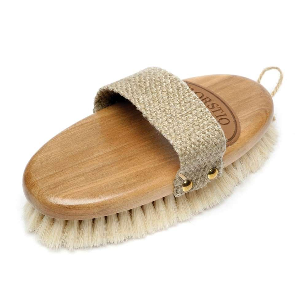 Borstiq Goat Hair Body Brush Small Grooming From Mj Equine