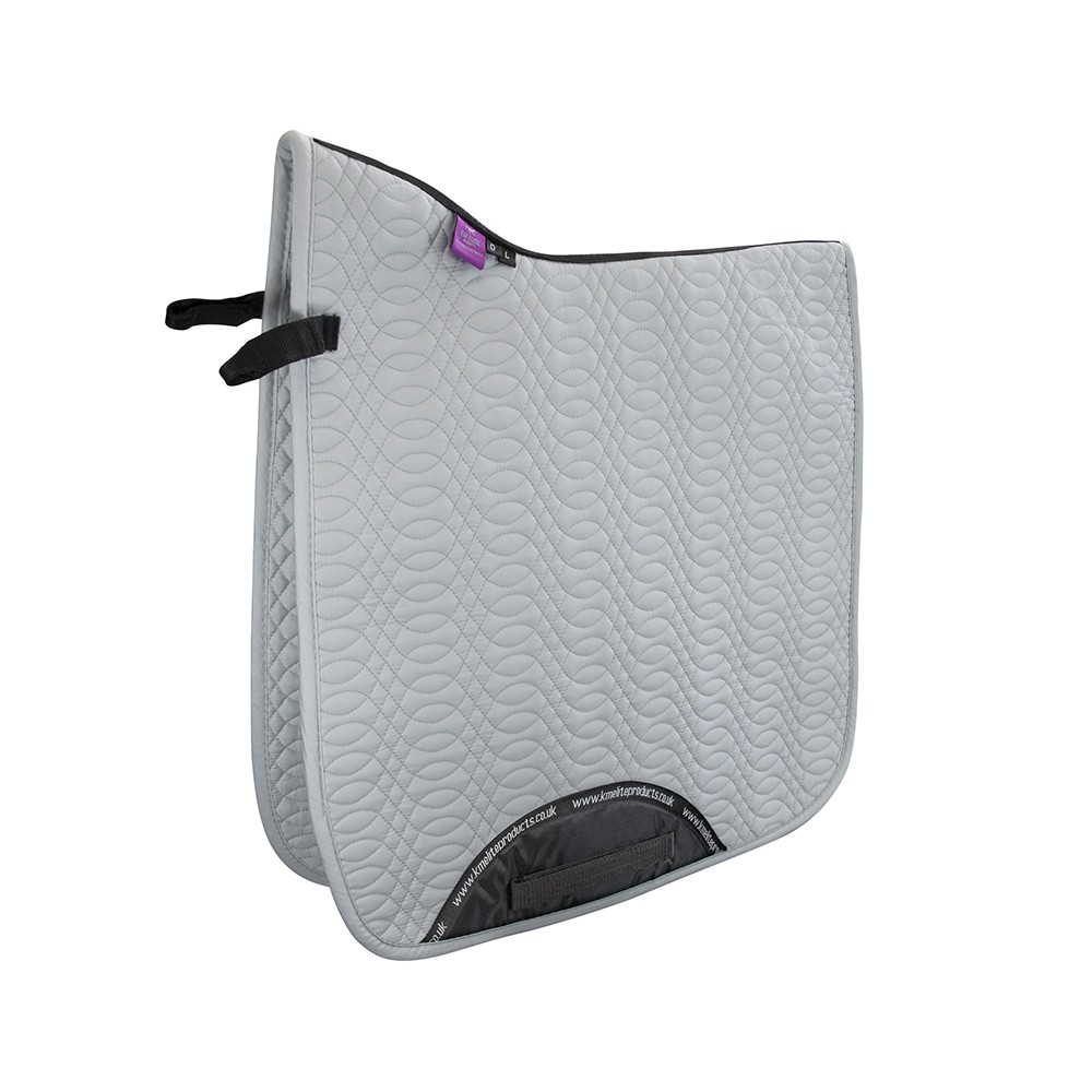 Dressage Saddle Cloth Platinum Grey Horse Essentials From